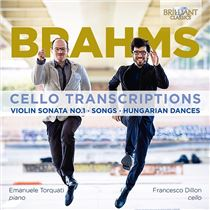CELLO Salter//Geringas BRAHMS SONGS 6